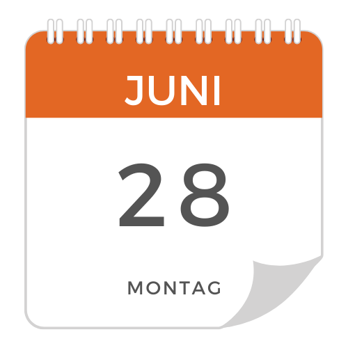 Montag - 28. Juni 21